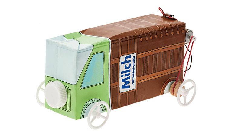 Bild 6: Recyclingcar mit Riemenantrieb
